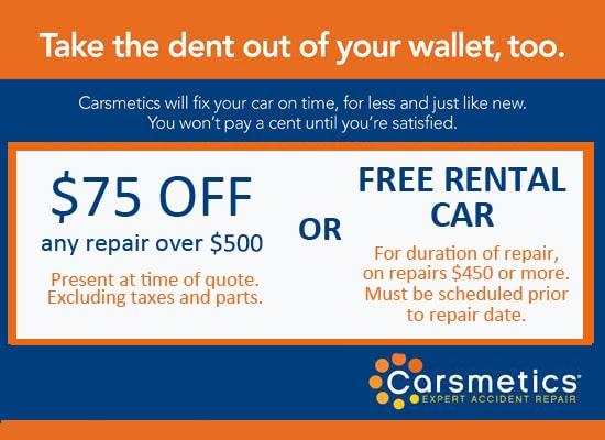 Carsmetics Coupon